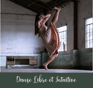 Lydie Brocas danse libre et intuitive